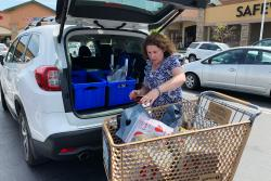 """I had one day, I worked six hours and made $50. It really wasn't worth it. ... But it doesn't happen that often,"" says Hilary Gordon, who works as a shopper for the grocery-delivery app Instacart in Sacramento, Calif. ""The other day I worked 11-and-a-half hours and made $265. Great? No. But good."""